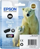 EPSON XP-600/605/700/800 26  PH. BLACK T2611